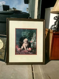 two brown wooden framed painting of woman Glendale, 85305