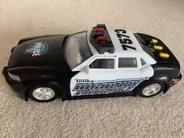 Motorized Tonka Police car with lights and sounds
