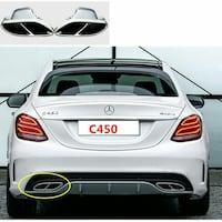 Selling C450 AMG Rear diffuser and Pipes Ends Richmond Hill, L4C 8E4