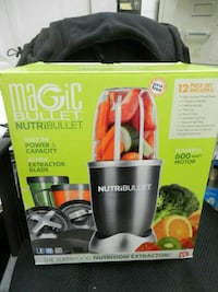 Magic Bullet NutriBullet 12-PC High-Speed Blender