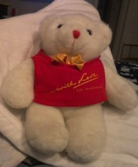 Vintage Fred Hayman Beverly Hills with Love Limited Edition Teddy Bear Las Vegas