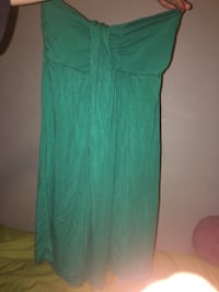 Summer dresses, green is a small/medium and the stripped is medium. 5$ but would sell for cheaper Lachine, H8S 3N9