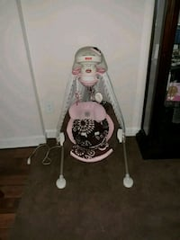 Cradle swing can be battery operated or plugged in Hyattsville, 20785