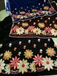 Beautiful embroidered velvet shawls Mississauga, L5N