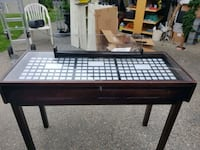 Display table with inserts and overstock storage Abbotsford, V2S