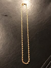 Rope chain - Gold plated Orchard Hills, 21742