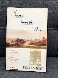 VGUC Ursula Hegi - Stones from the River Paperback Ajax, L1Z 1C9