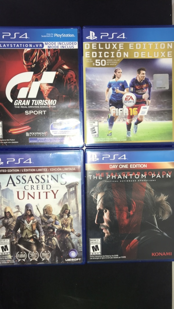 Used PS4 games for cheap for sale in Coquitlam - letgo 2c850b894