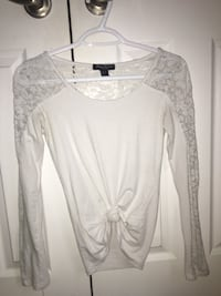 white lace long-sleeved shirt Vaughan, L4H 3B3