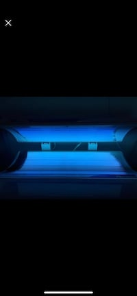 Sun dash 2 Tanning bed with brand new bulbs OPEN TO TRADES