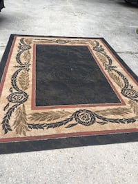 broen and black area rug Slidell, 70461