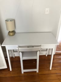 white wooden table with four chairs Boston, 02116