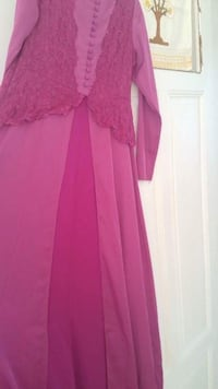 robe manches longues rose des femmes Chauny