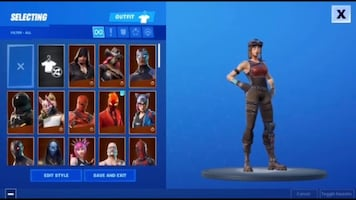 Renegade raider Acc - ngf - dm me offers