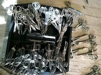 Assorted stainless steel instruments. Southfield, 48076