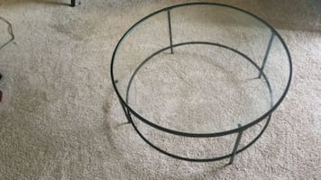 Round Center Table - Glass