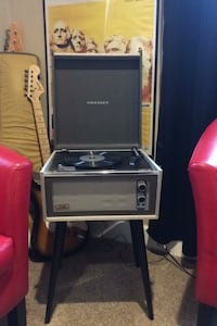 Crossly Dansette record player