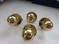 Brass Closet Door knobs