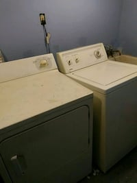 white washer and dryer set Hyattsville, 20782
