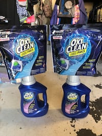 two Oxi Clean plastic bottles Palmdale, 93550