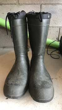 Rubber boots  size 12  Cambridge, N1R 1V2