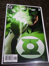#1 Green Lantern DC comic book