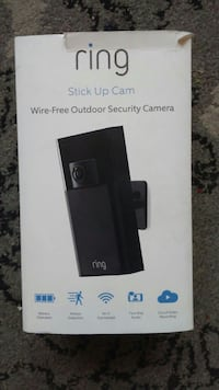 Ring Stick-Up Cam - Wireless Outdoor Camera