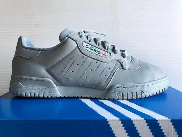 eb323e990 Used gray Adidas Yeezy Powerphase Calabasas low-top sneaker for sale ...