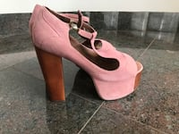 Jefreey Campbell pink high heel  Vancouver, V6M 2Y6