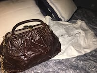 Marc Jacobs Brown Quilted Leather Stam Katy, 77494