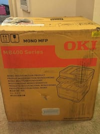 Brand new MB400 printer