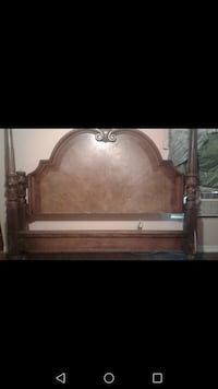 Solid oak headboard  & footboard Braxton, 39044