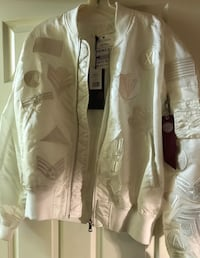 New white bomber jacket Silver Spring, 20904