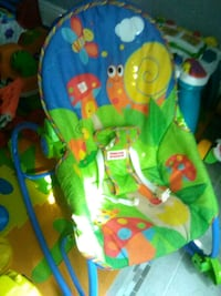 baby's green and blue bouncer Tallahassee, 32301