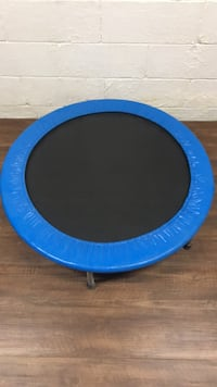 Blue and black portable trampoline Middletown, 07748