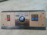 Arcade control panel and door. With track ball