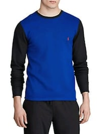Polo Ralph Lauren Color Block Waffle Thermal Top Sz Med NEW Toronto, M5N 2X4