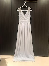 Size 2 TFNC Wrap Front Maxi Bridesmaid Dress With Embellished Shoulder prom dress Richmond Hill, L4B
