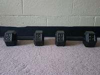 Two 20lb dumbbells