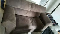 brown suede 2-seat sofa Alexandria, 22315