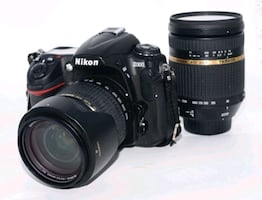 Nikon D300 and  both lens come with camera