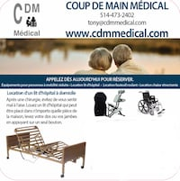 medical equipment rental Montréal