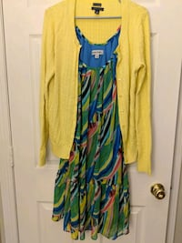 Outfit Bundle: Summer Dress + Cardigan Leesburg, 20176
