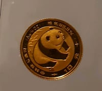 chinese gold coin Markham, L3R