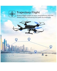RC Drone Helicopter with Voice/App Control Altitude Hold Headless Mode