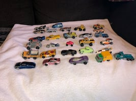 Assortment of MatchBox and Hot Wheels Cars from 1976-2001