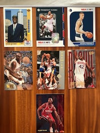 .75 Basketball cards