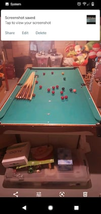 Snooker Billiards Table