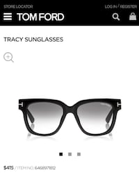 Authentic Tom Ford sunglasses NEW (no case)