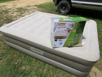 Coleman queen double high air bed  Suitland-Silver Hill, 20746